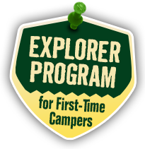 Explorer Program for First-Time Campers