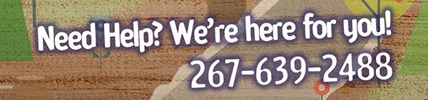 Need Help? Give us a Call: 267-639-2488