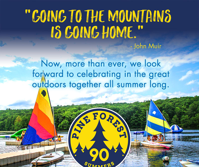Now more than ever, we look forward to celebrating in the great outdoors together all summer long.