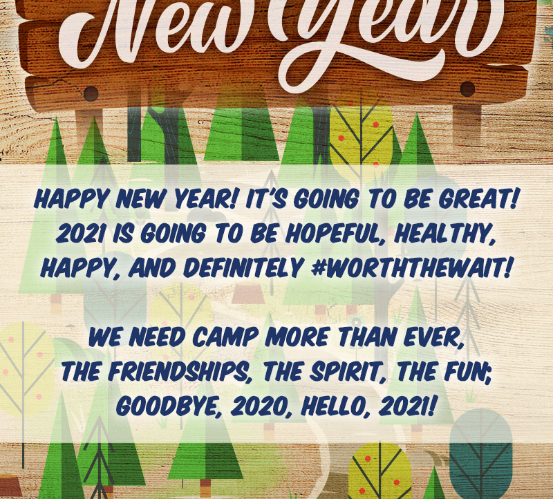 Happy New Year from Pine Forest Camp
